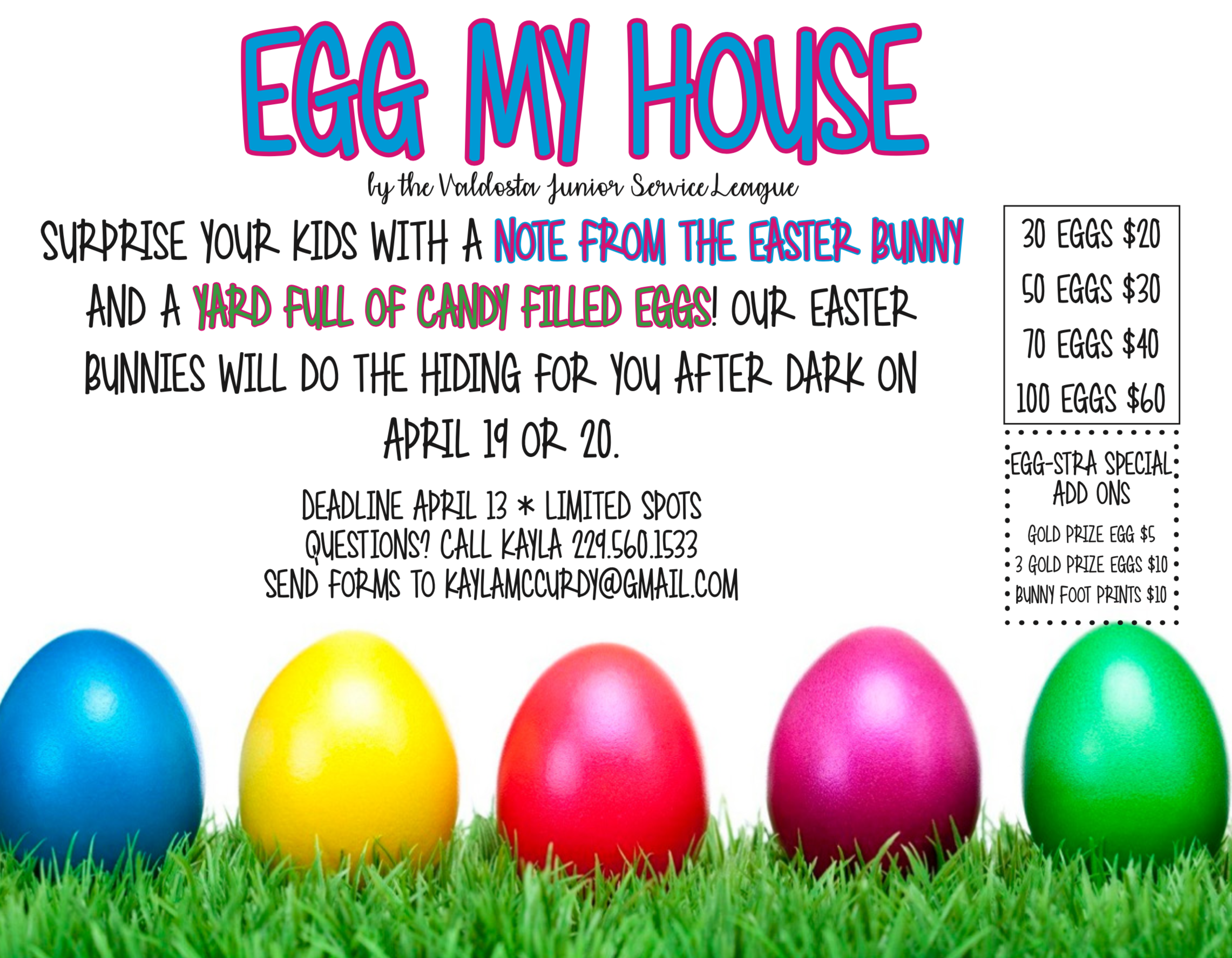 Enjoyable Valdosta Junior Service League Egg My House Easter Egg Fun Download Free Architecture Designs Terstmadebymaigaardcom